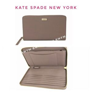 New Kate Spade cell phone multi function wallet XL